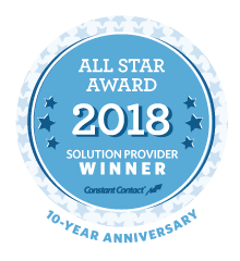 Constant Contact All Star Award Winner 2018