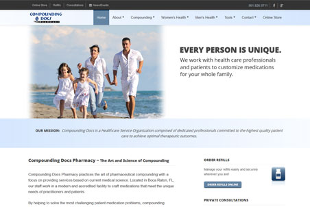 Storey Marketing Designed Compounding Docs Pharmacy