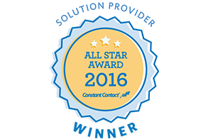 Contant Contact All Star Award 2016