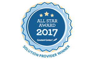 Contant Contact All Star Award 2017