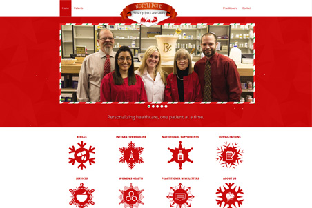 Storey Marketing Designed Northpole Pharmacy